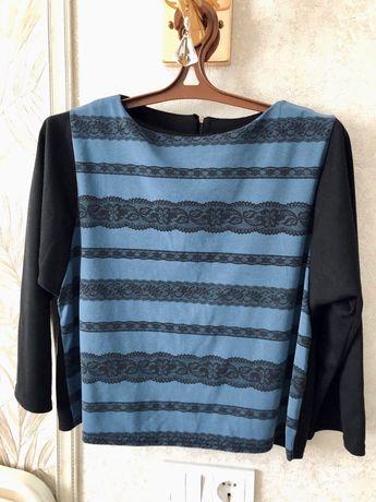 Женская укороченная блуза (блузка)
