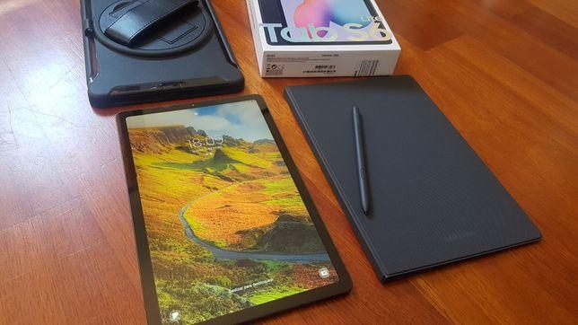 Samsung Tab S6 Lite + Acessórios