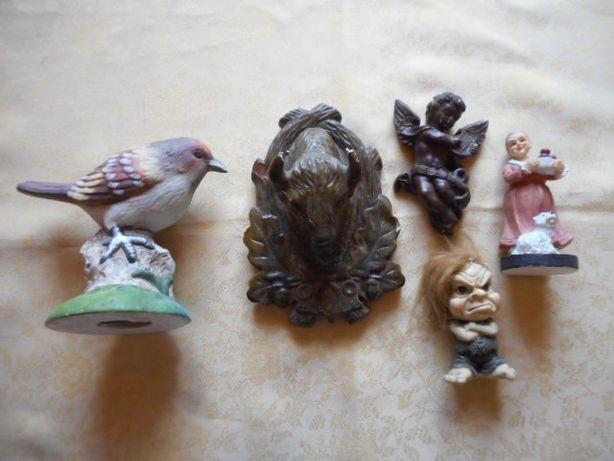 Ozdoby ceramika gipsowe ptak żubr anioł ozdoba figurka figura