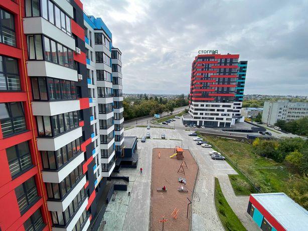 Продам 1-к квартиру в новобудові з частковим ремонтом (в центрі)