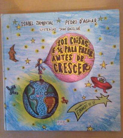 """Livro infantil """"101 Coisas e Meia Para Fazer Antes de Crescer"""""""