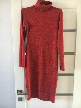 Теплое платье S