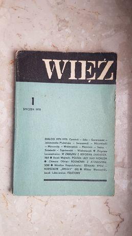 Więź - I 1972 (styczeń)