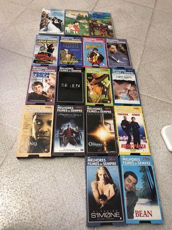Filmes vhs como novos