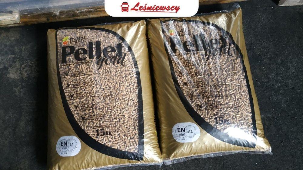 Pellet GOLD ENERGY od ręki 100% zadowolenia czysta trocina Pleszew