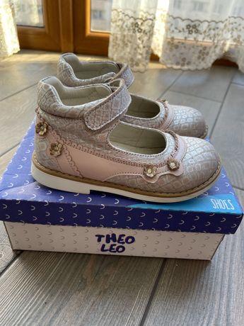 Туфли ортопедически для девочки Theo Leo