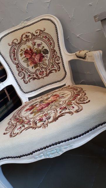 Fotel po renowacji