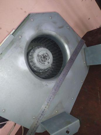Вытяжка круглая и прямоугольная вентиляция