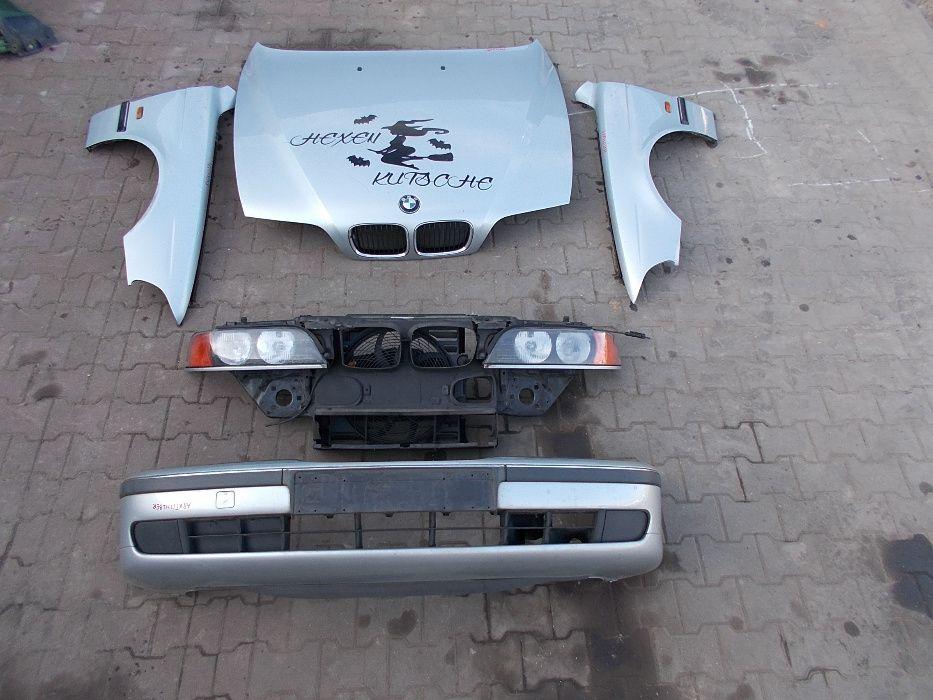 Zderzak ,maska ,błotnik BMW 5 E39