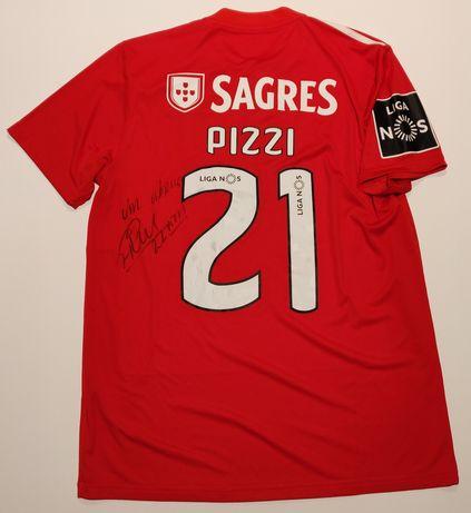 Camisola Benfica Pizzi assinada