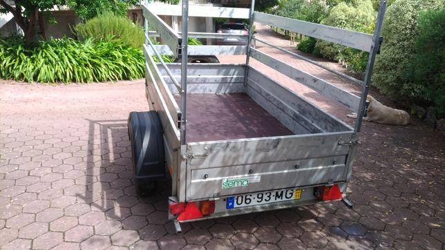 Atrelado marca STEMA USADO DE 850 kg