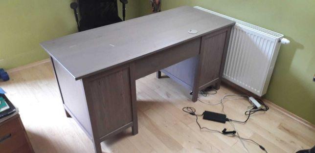 Biurko Hemnes IKEA drewno