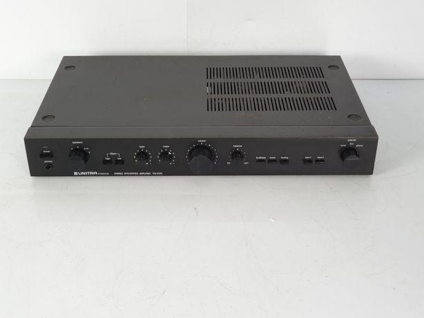 Wzmacniacz UNITRA PW 9010 Fonica po WYMIANIE Kondensatorów 2x35W 8 ohm