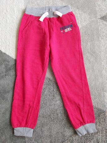 Spodnie dresowe CARRY JUNIOR malinowe 128 6-7 LAT