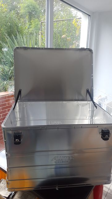 Kufer aluminiowy ALUtech poj.184 litry