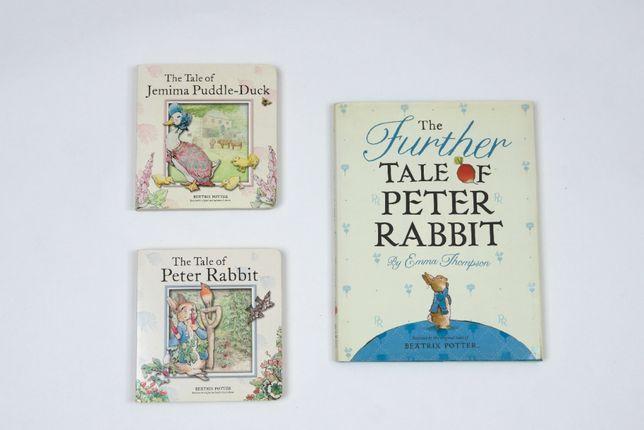 3 książeczki Beatrix Potter Peter Rabbit angielski