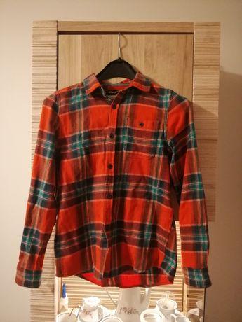 Koszula święta,krata, czerwona