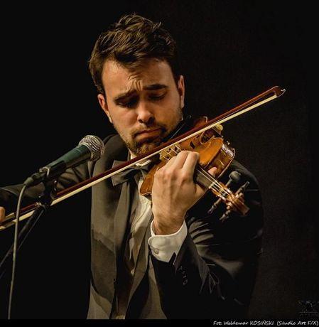 Oprawa muzyczna ślubu- skrzypce. Zawodowy skrzypek na ślub.
