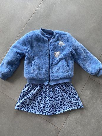 Детская шубка и платье