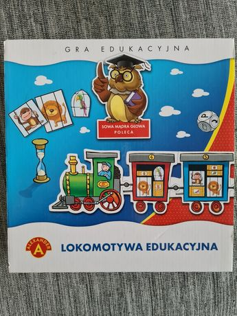 Gra edukacyjna lokomotywa