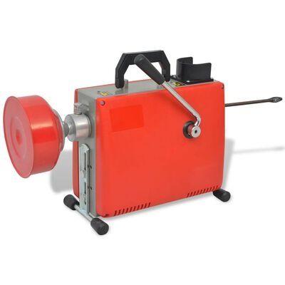 Máquina desentupidora de canos 250 W 15mx16 mm 4,5mx9,5mm