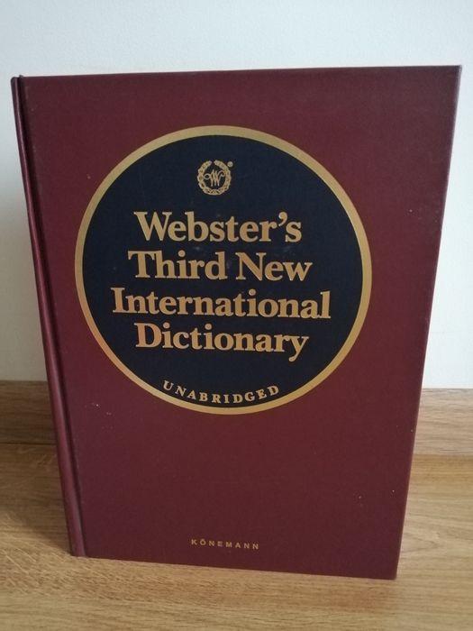 Webster's Third New International Dictionary Unabridged Konemann Bytom - image 1