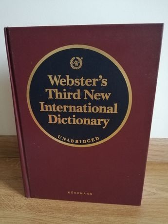 Webster's Third New International Dictionary Unabridged Konemann
