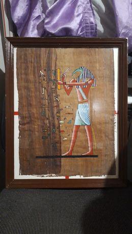 Продам  большую картину на папирусе Египта