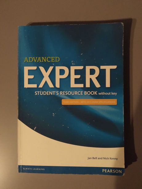 Advanced expert Student's resource Book