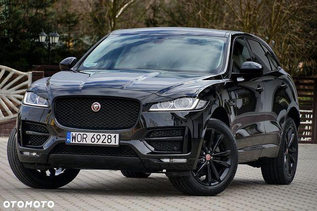Jaguar F-Pace 2.0d(180km) 4x4 # R Sport # Black Edition ##