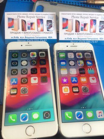 Замена стекла модуля тачскрина дисплея экрана iPhone 5S 6 6S 7 7Plus 8