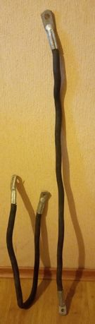 Алюминиевый кабель с наконечником