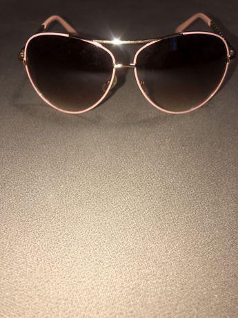 Женские солнцезащитные очки авиаторы/капельки