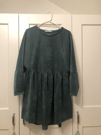 Sukienka sztruksowa Lila Lou oversize one size rozmiar uniwersalny
