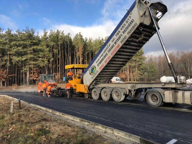 układanie asfaltu, budowa dróg, asfaltowanie, łatanie dziur, asfalt