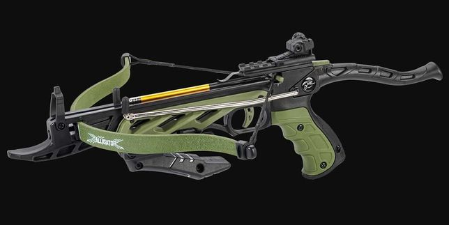 Pistola Besta, Crossbow Novo e Selado 80lbs Verde tropa, Portes Grátis