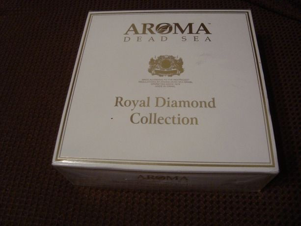 Набор для ухода за кожей лица Royal Diamond Collection Aroma Dead sea