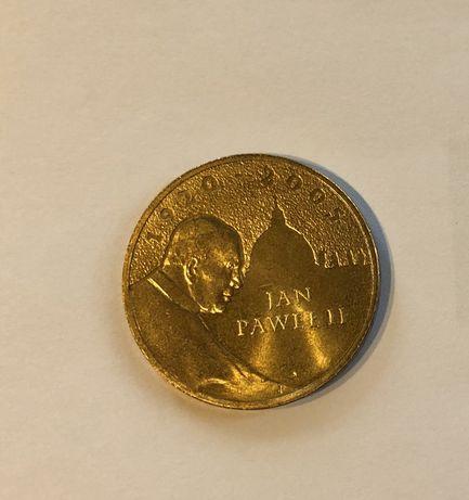 2zł moneta okolicznościowa Jan Paweł II 2005