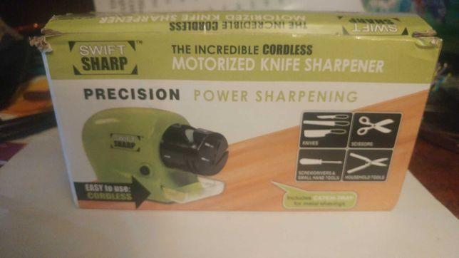 Беспроводная универсальная электрическая точилка для ножей и ножниц