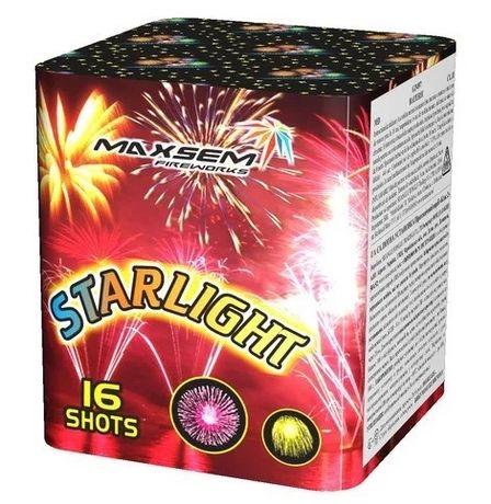 Фейерверк Maxsem Starlight 16 зарядный 20мм салюты фейерверк фаер