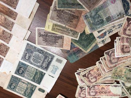 Banknoty starepolskie,gazety