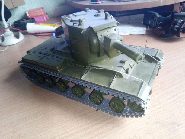 Модель танка КВ-1, КВ-2, ИСУ-152, ИСУ-122 1:30 СССР