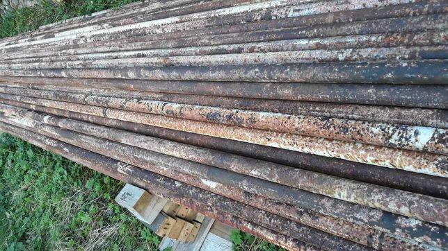 Stalowe rury ogrodzeniowe