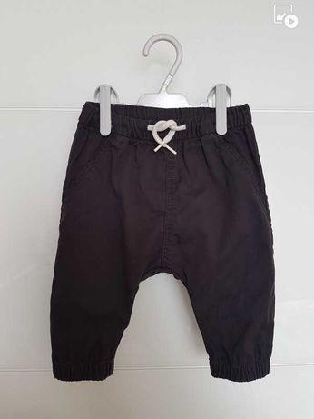 Spodnie baggy czarne H&M 68