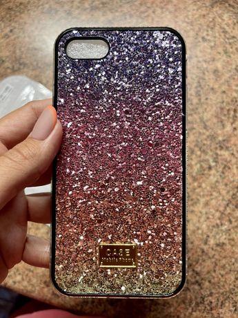 Чехол блестящий со стразами айфон 7 и 8 iphone