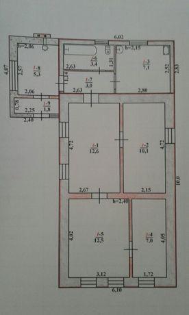 Продам участок с домом под снос с. Новокрасновка
