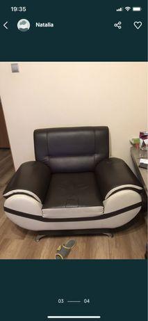 Dwa skórzane fotele