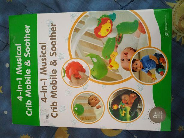 Мобиль для младенцев от рождения