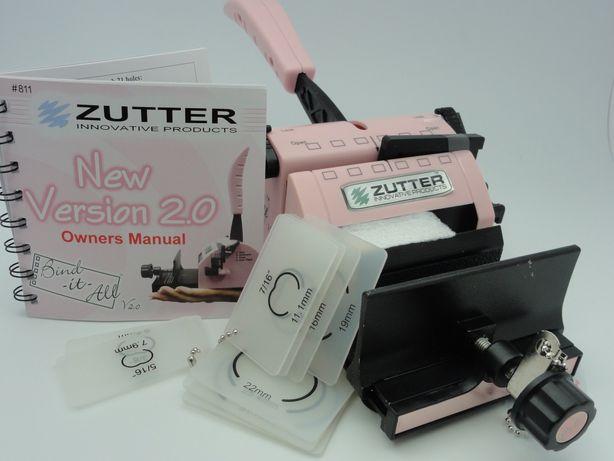 Биндер Zutter Pink-Bind-it-all, брошюровщик, дырокол