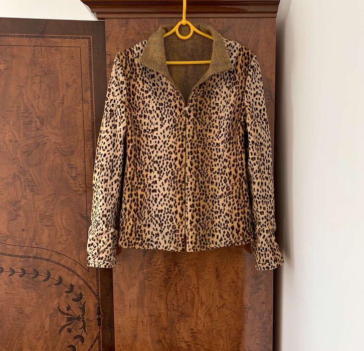 Куртка леопардовая двусторонняя Ивано-Франковск - изображение 1